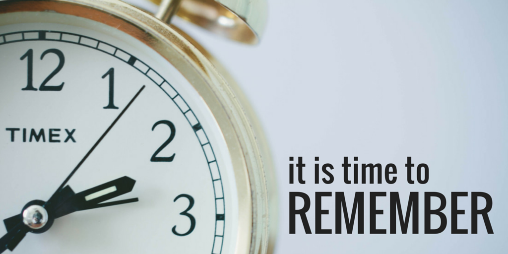it is time to remember; by jeanette leblanc