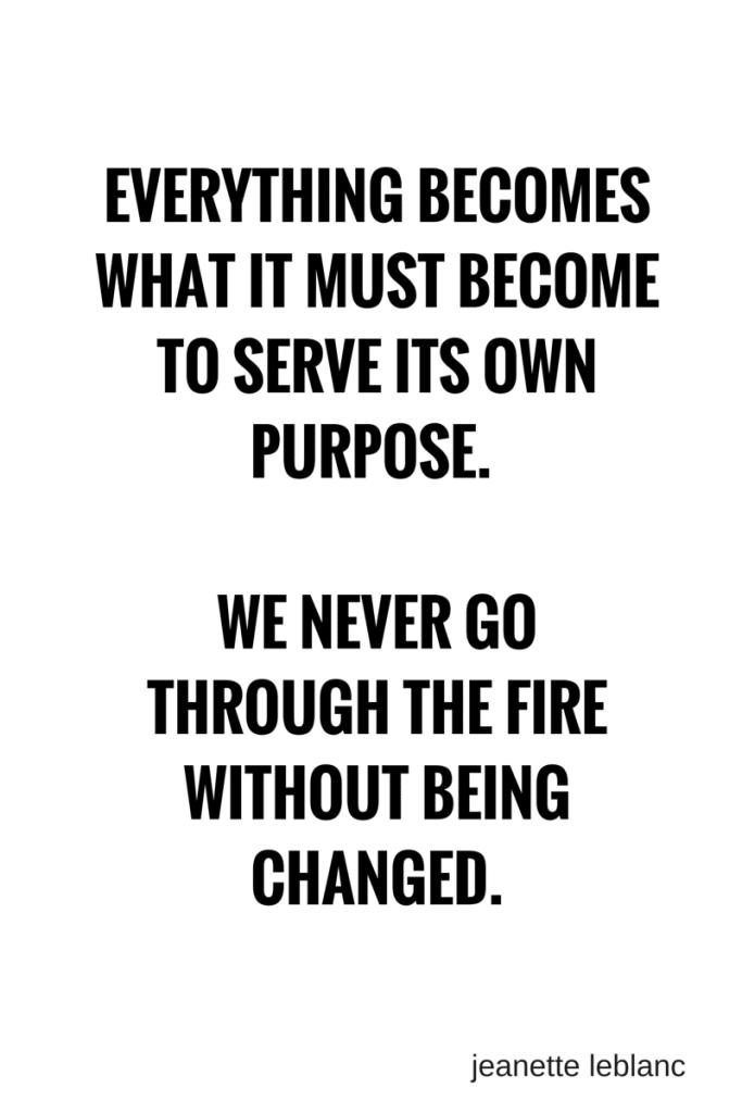 go through the fire|| jeanette leblanc #writing