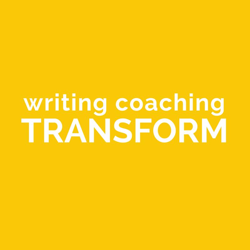 Writing Coaching - Transform - Jeanette LeBlanc