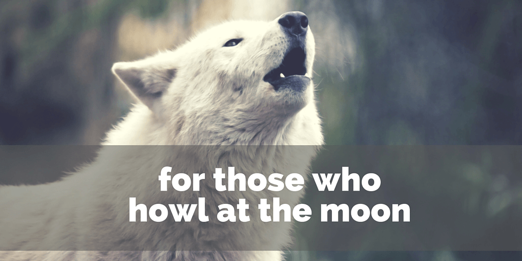 for those who howl at the moon